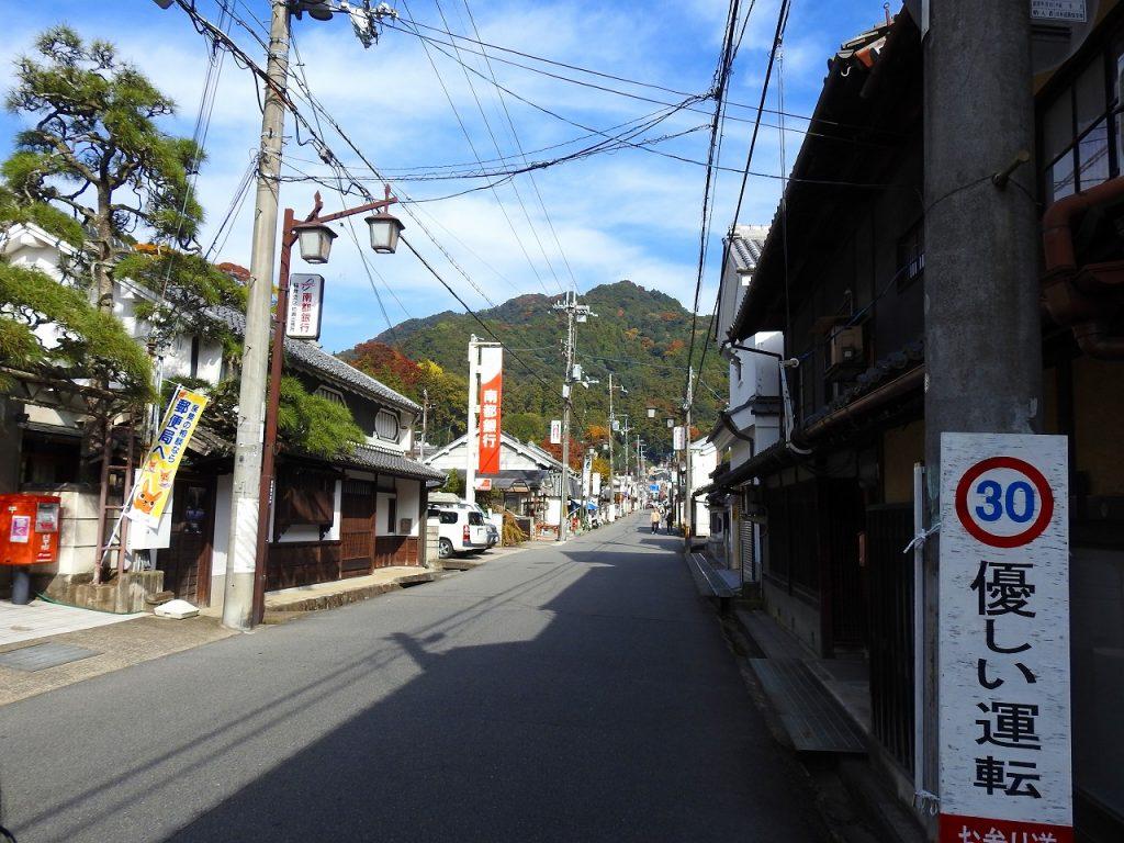 長谷寺へ続く通り道