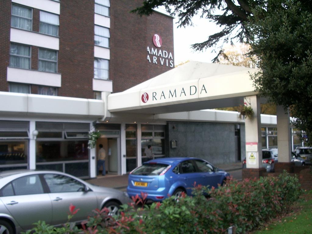 イギリスのロンドンにある「RAMADAホテル」