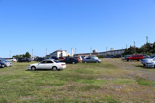 鈴鹿サーキットの駐車場