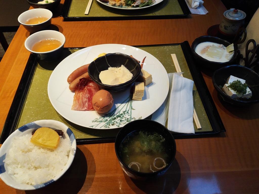 ホテルサンルート奈良の食事
