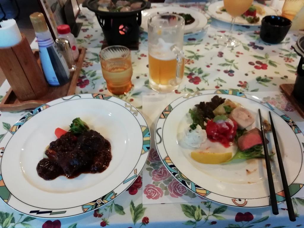 パディントンハウスの夕食、最初の料理