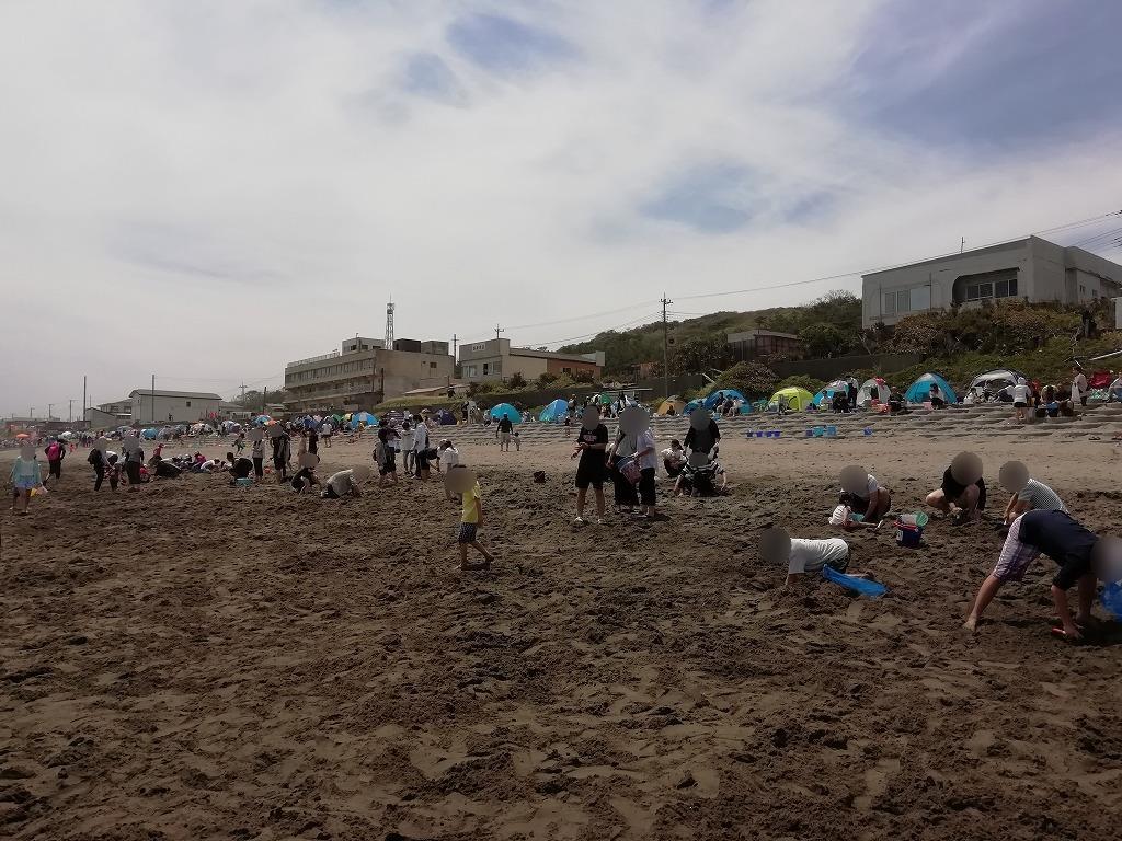 大竹海岸のハマグリまつり