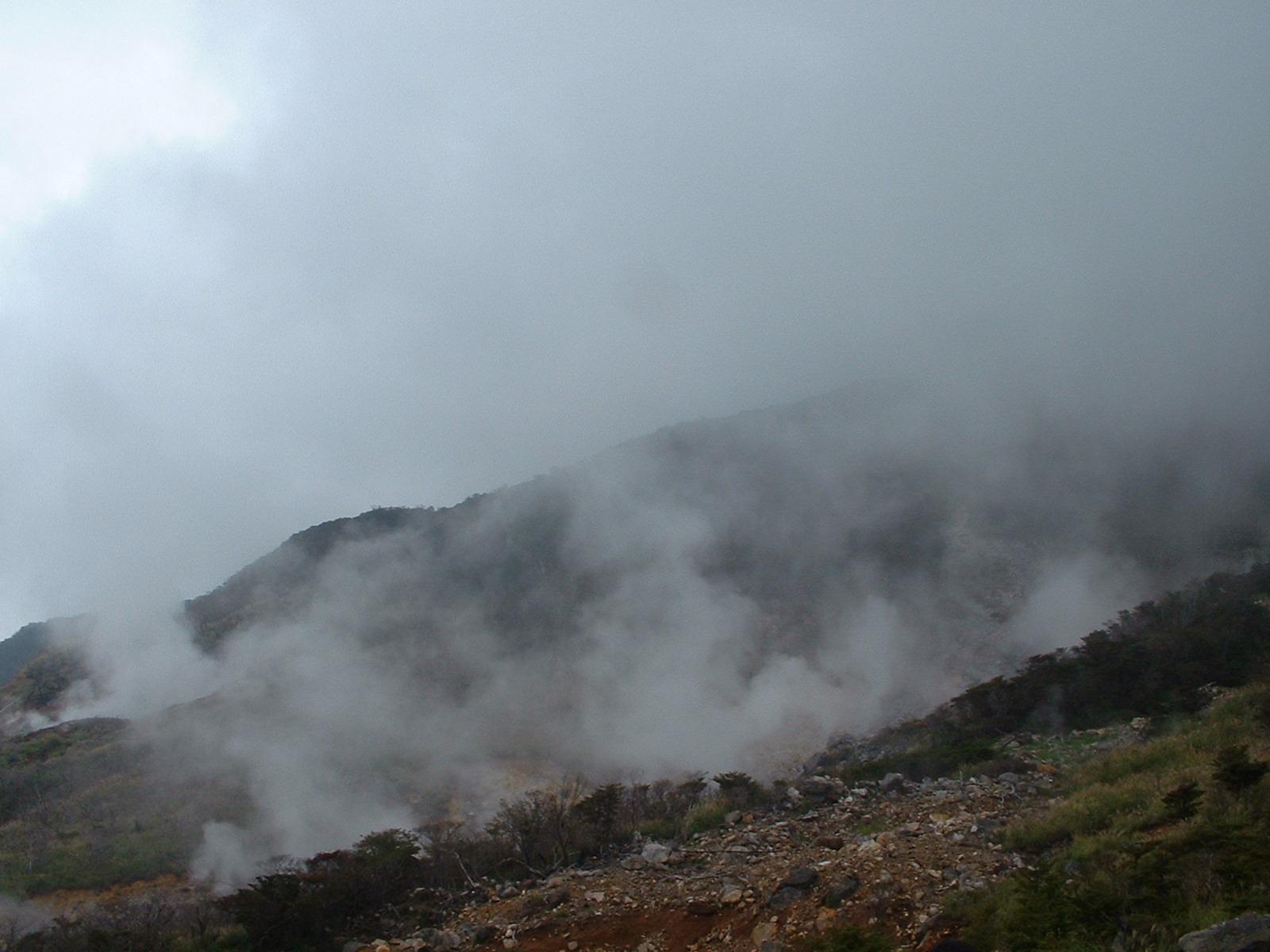 箱根の地獄谷