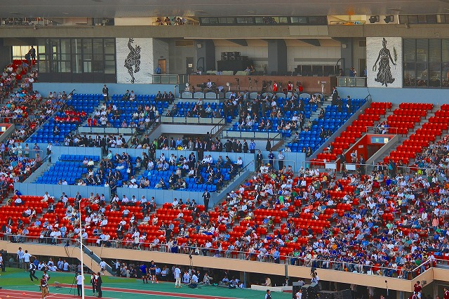 旧 国立競技場 2014年