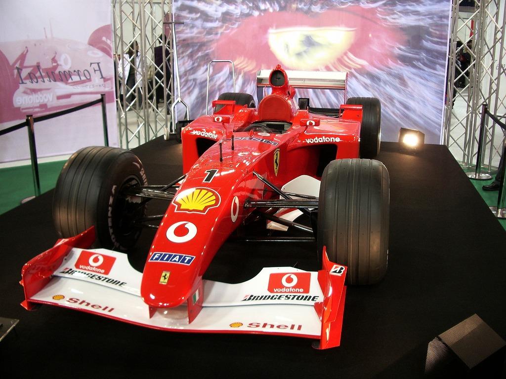 フェラーリ F2001