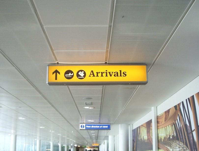 ヒースロー空港 到着手続き